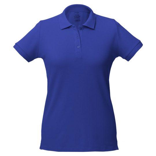 Рубашка поло женская Virma lady, ярко-синяя, размер M