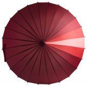 Зонт-трость «Спектр»,красный