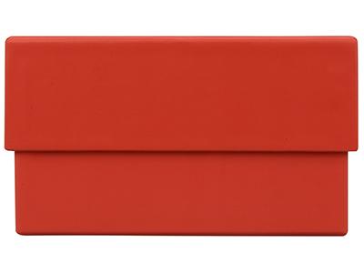 """Подарочная коробка """"Corners"""" средняя, красный, арт. 009044003"""