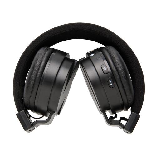 Складные Bluetooth-наушники, черный