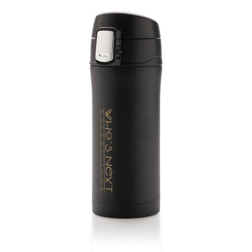 Термокружка Easy lock, 300 мл, черный, арт. 009255406