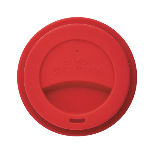 Стакан с крышкой PLA, 350 мл, красный, арт. 009355906