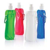 Складная бутылка для воды, 400 мл, белый
