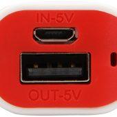 Портативное зарядное устройство (power bank) Basis, 2000 mAh, красный, арт. 009458403
