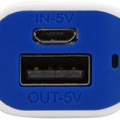Портативное зарядное устройство (power bank) Basis, 2000 mAh, синий, арт. 009458503