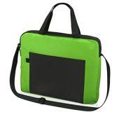 """Конференц сумка для документов """"Congress"""", зеленый/черный, арт. 009554303"""
