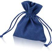 Мешочек подарочный, лен, малый, темно-синий, арт. 009539003