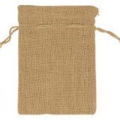 Мешочек подарочный, джут, средний, натуральный, арт. 009541003