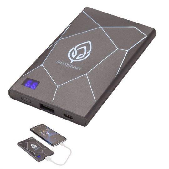 Портативное зарядное устройство XOOPAR GEO SLIM, черный, арт. 009447203