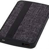 Зарядное устройство из ткани, 4000 mAh, черный, арт. 009577703