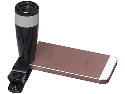 8-ми кратно увеличивающая линза для смартфона, черный, арт. 009578303