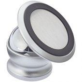 Поворотный магнитный держатель телефона Mount, серебристый