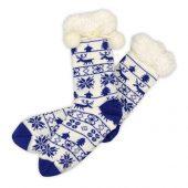 Домашние носки женские, синий ( стопа 21,5-25 см ), арт. 009598303