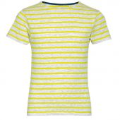 Футболка MILES KIDS серый с желтым, размер 14Y