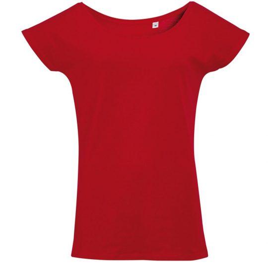 Футболка женская MARYLIN красная, размер XXL