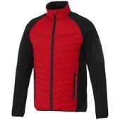 Куртка «Banff» мужская, красный/черный ( L )