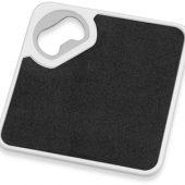 Подставка с открывалкой для кружки «Liso», черный/белый, арт. 009663003