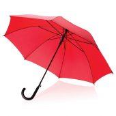 Автоматический зонт-трость, 23″, красный