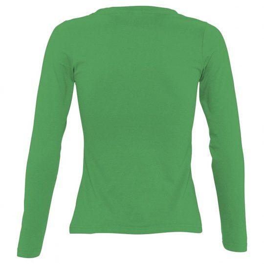 Футболка женская с длинным рукавом MAJESTIC 150, ярко-зеленая, размер M