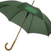 Зонт Kyle полуавтоматический 23″, зеленый лесной, арт. 011525203