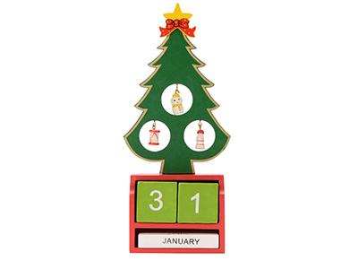 Декоративная елочка c календарем, арт. 012823103