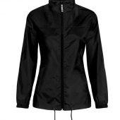 Ветровка женская Sirocco черная, размер XL