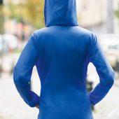 Ветровка женская Sirocco темно-синяя, размер XS