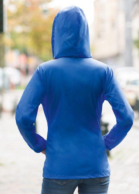Ветровка женская Sirocco темно-синяя, размер L