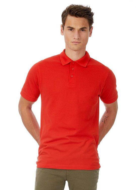 Рубашка поло Safran ярко-синяя, размер M