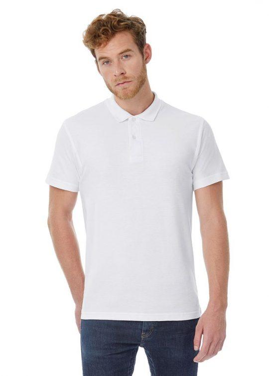 Рубашка поло ID.001 белая, размер S