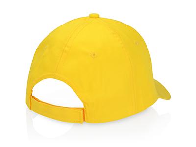 """Бейсболка """"Detroit C"""" 6-ти панельная, желтый, арт. 013533803"""