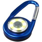 Фонарик с карабином The Eye, ярко-синий, арт. 013522503