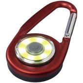 Фонарик с карабином The Eye, красный, арт. 013522203