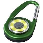 Фонарик с карабином The Eye, зеленый, арт. 013522403