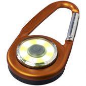 Фонарик с карабином The Eye, оранжевый, арт. 013522603