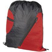 Спортивный рюкзак из сетки на молнии, красный, арт. 013480603