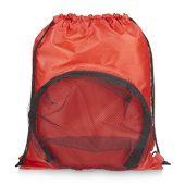 Спортивный рюкзак на шнурке, красный, арт. 013466603