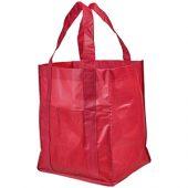 Ламинированная сумка для покупок, красный, арт. 013478803