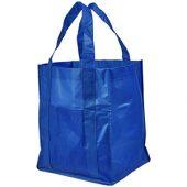 Ламинированная сумка для покупок, ярко-синий, арт. 013479103