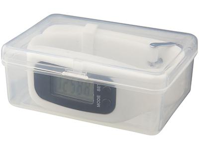 Смарт часы с шагомером Get-Fit, белый, арт. 013519703
