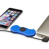 Спиннер с зарядными кабелями, ярко-синий, арт. 013474303