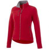 Женская микрофлисовая куртка Pitch, красный (L)