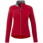 Женская микрофлисовая куртка Pitch, красный (S), арт. 013600703