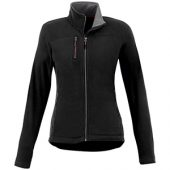 Женская микрофлисовая куртка Pitch, черный (XS), арт. 013602203