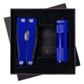 Набор Handmaster: фонарик и мультитул, синий