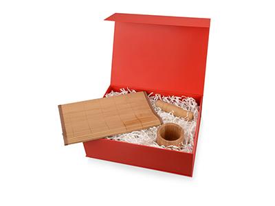 """Подарочная коробка """"Giftbox"""" большая, красный"""