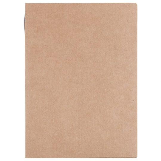 Папка Fact-Folder c блокнотом формата А4 и ручкой, крафт