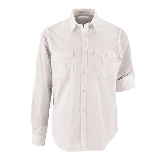 78e332a1afd Рубашка мужская BURMA MEN белая