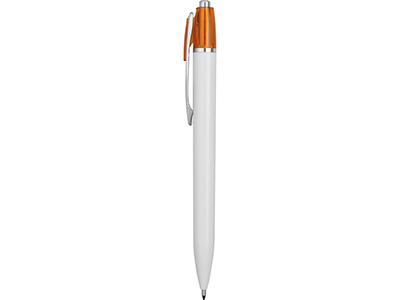 Ручка шариковая Celebrity «Эллингтон», белый/оранжевый, арт. 014077003