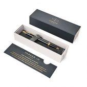 Шариковая ручка Parker (Паркер) IM Core Black GT, черный/золотистый, арт. 014123903